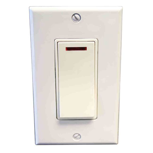 Amba Products Amba Pilot Light Switch - Almond
