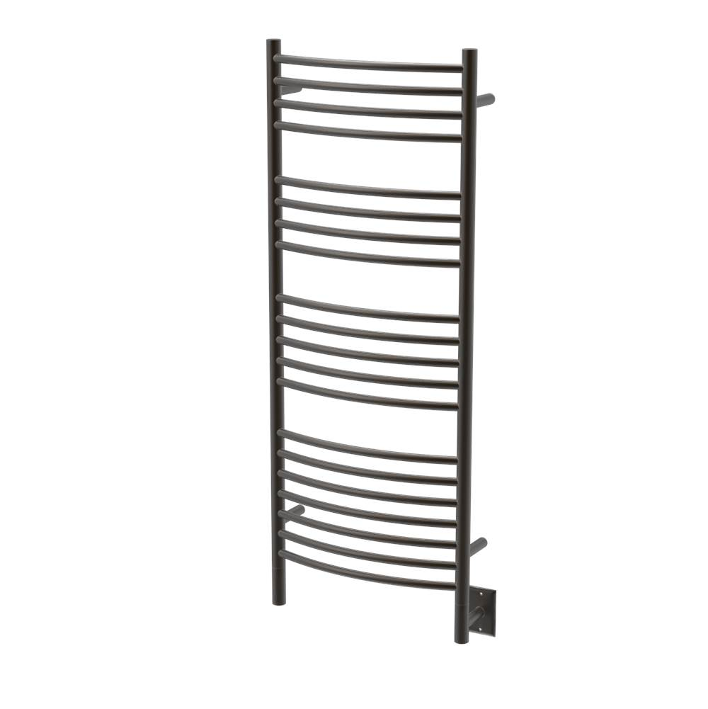 Amba Products Amba Jeeves 20-1/2-Inch x 53-Inch Curved Towel Warmer, Oil Rubbed Bronze