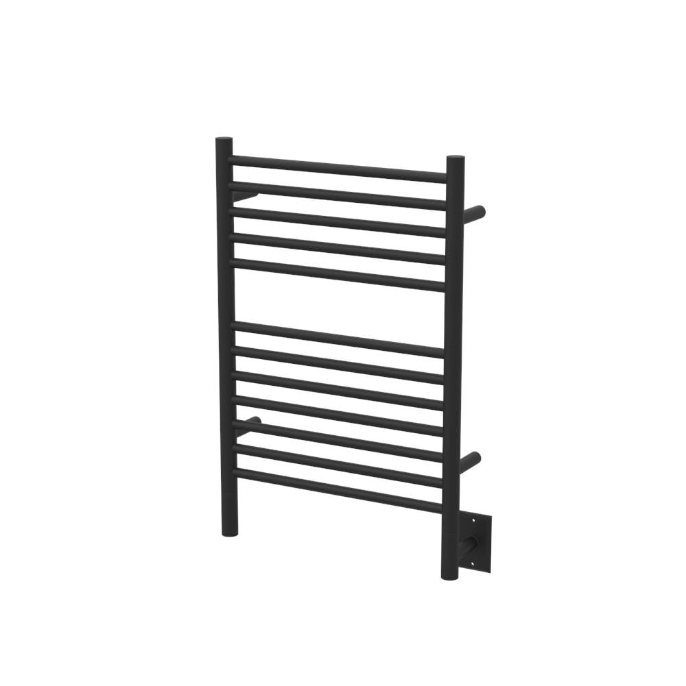 Amba Products Amba Jeeves 20-1/2-Inch x 31-Inch Straight Towel Warmer, Matte Black