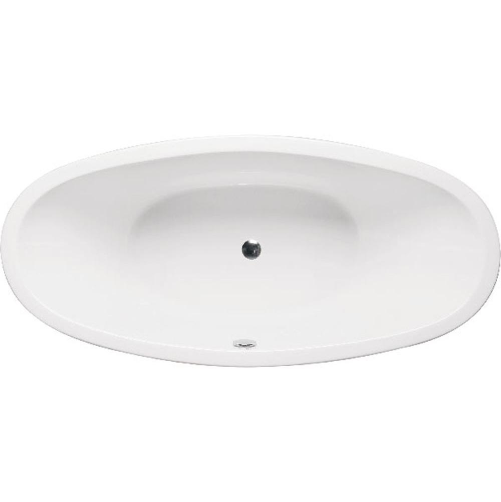 Americh Contura II 7232 - Tub Only / Airbath 2 with integral drain, Biscuit