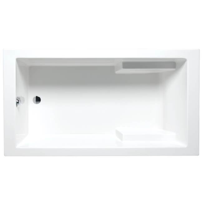 Americh Nadia 7232 - Tub Only / Airbath 2, Biscuit