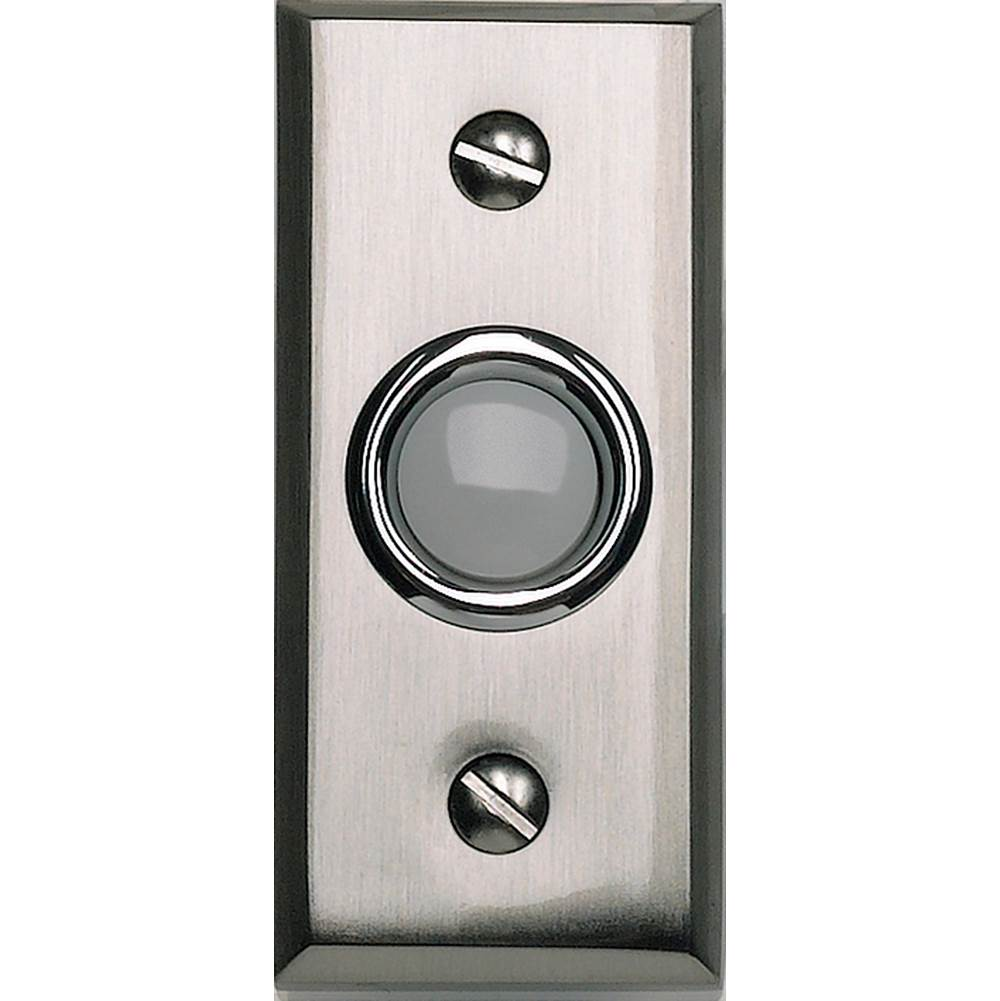 Atlas Mission Door Bell  Brushed Nickel