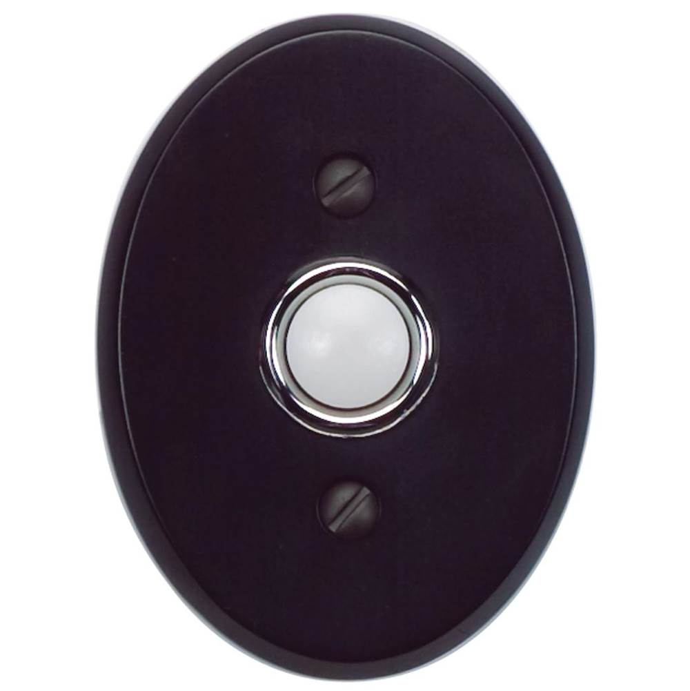 Atlas Traditionalist Doorbell  Matte Black