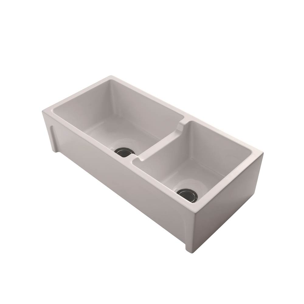 Barclay Millwood 36'' DBL Bowl Fire Clay, Farmer sink, BQ