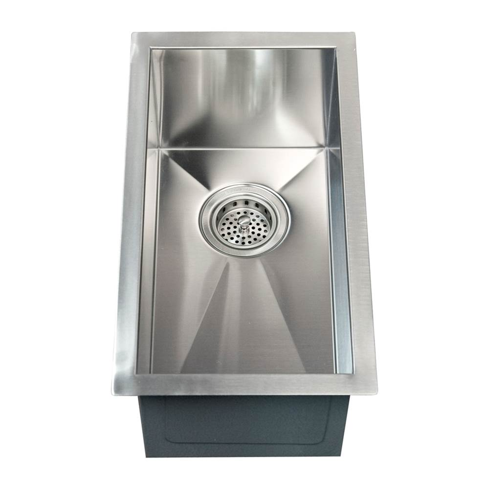 Barclay Ophelia 15'' SS NarrowUndermount Prep Sink