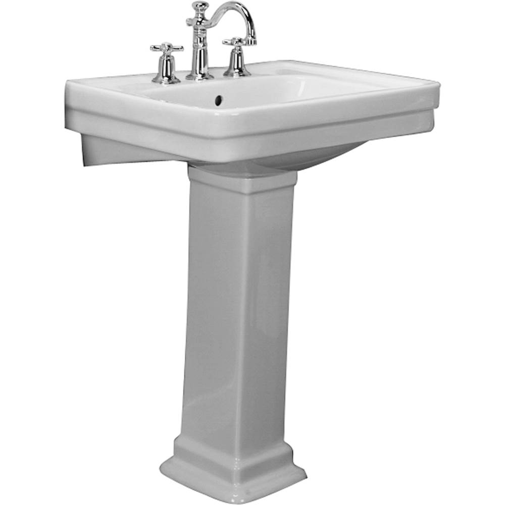 Barclay Sussex 660 Basin, 4''cc, White