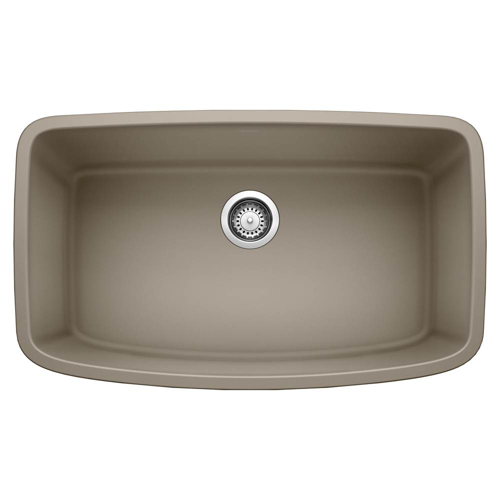 Blanco VALEA SILGRANIT Super Single Bowl Kitchen Sink in Truffle