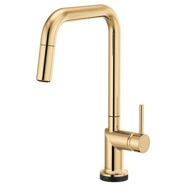 Brizo Odin: SmartTouch® Pull-Down Faucet with Square Spout - Less Handle