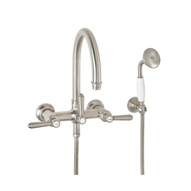California Faucets Traditional Wall Mount Tub Filler