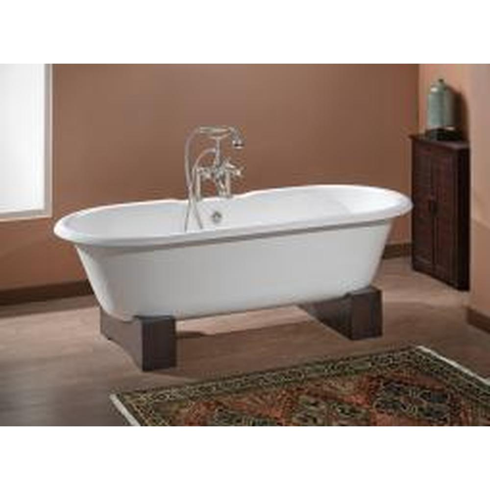 Cheviot Products REGAL Cast Iron Bathtub with Faucet Holes