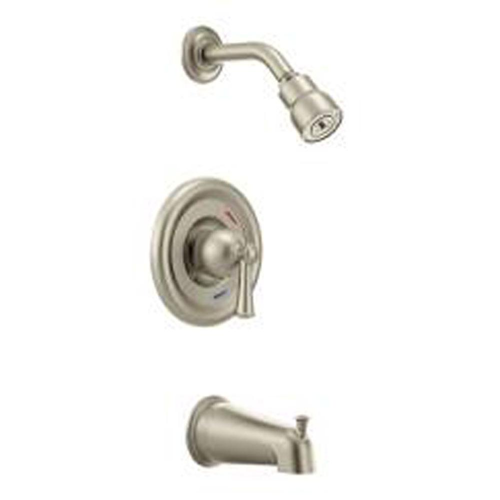 Cleveland Faucet Showers Tub And Shower Faucets Capstone Nickel ...