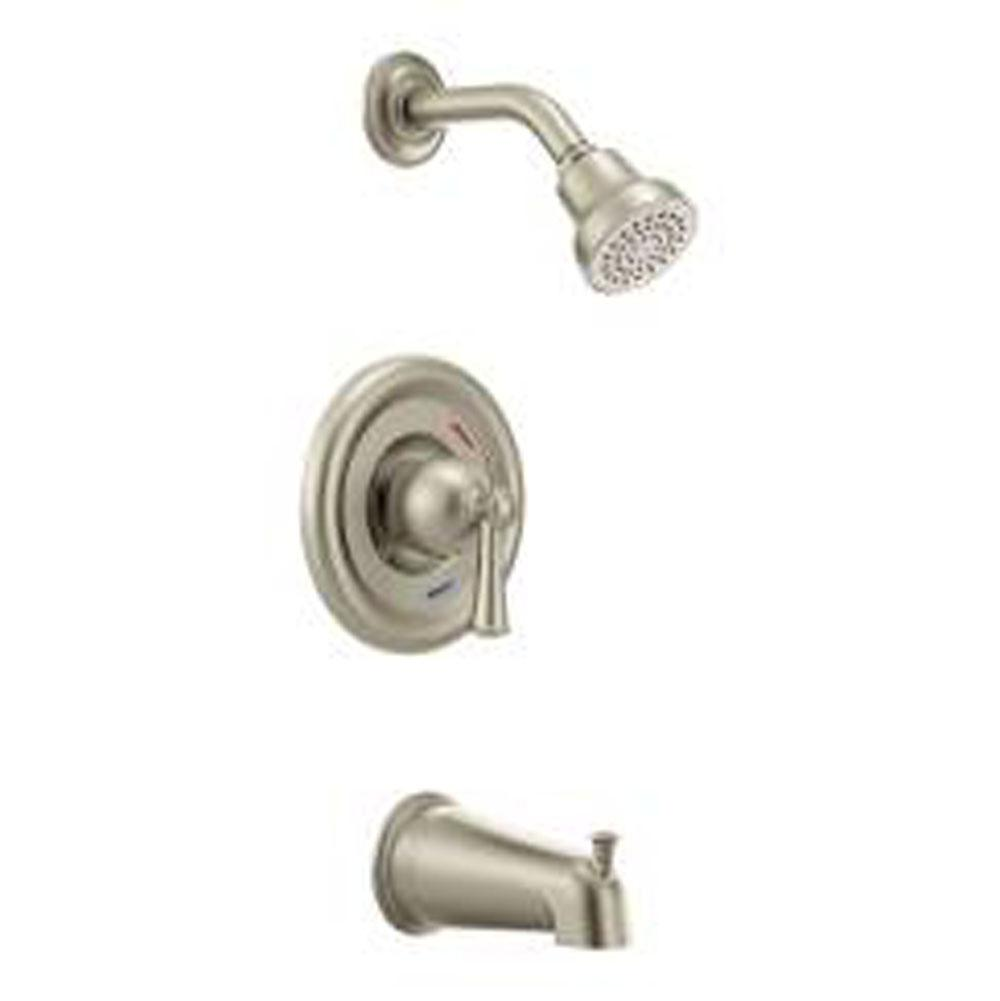 Bath And Shower Faucets cleveland faucet showers tub and shower faucets capstone nickel
