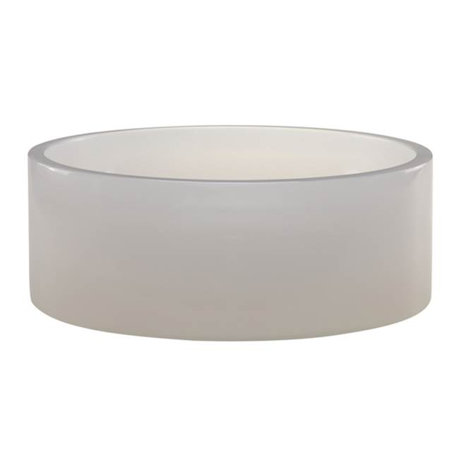 Decolav Mist Round Above-Counter Resin Lavatory
