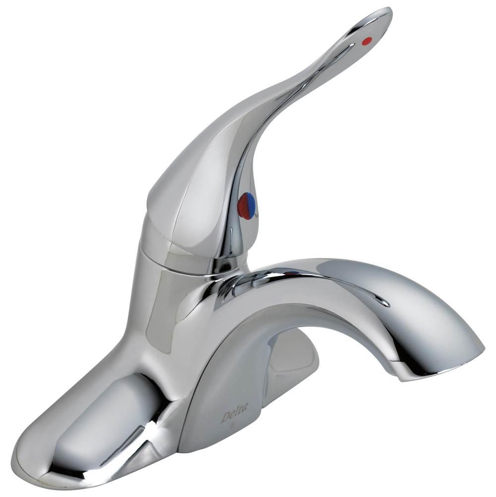 Delta Faucet - 511LF-HDF - Delta Commercial Classic: Single Handle Centerset Lavatory Faucet Less Pop-Up