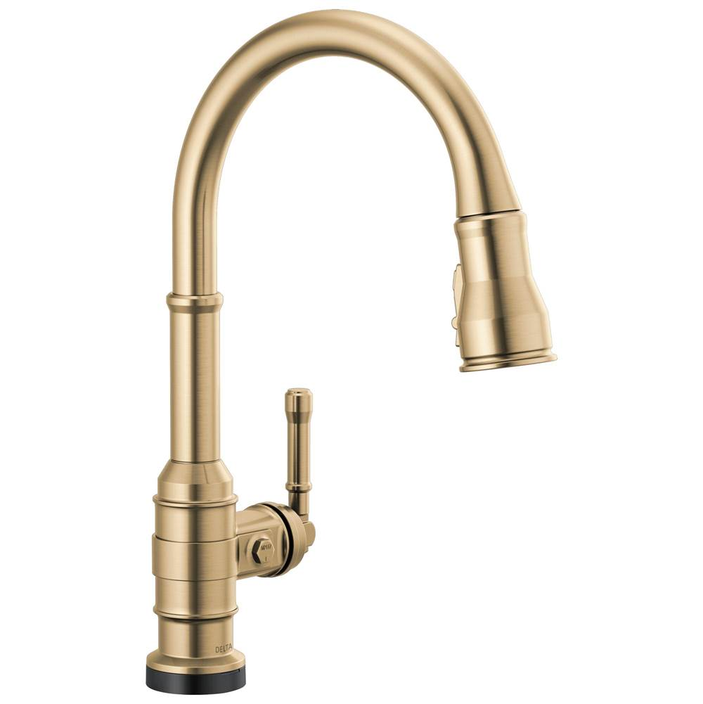 Delta Faucet Broderick: Single Handle Pull-Down Kitchen Faucet With Touch2O Technology