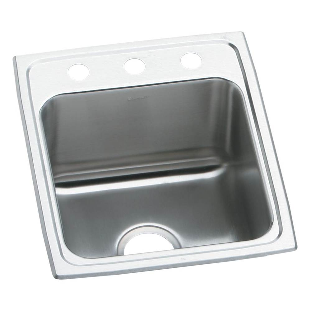 Elkay Elkay Lustertone Classic Stainless Steel 15'' x 22'' x 6-1/2'', Single Bowl Drop-in ADA Sink
