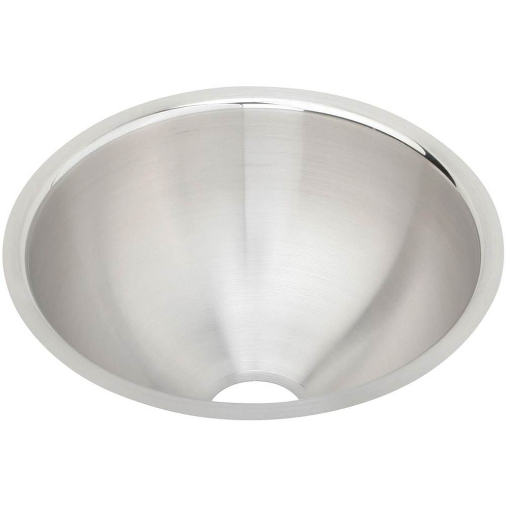 Elkay Elkay Asana Stainless Steel 11-3/8'' x 11-3/8'' x 4-3/4'', Single Bowl Undermount Bathroom Sink