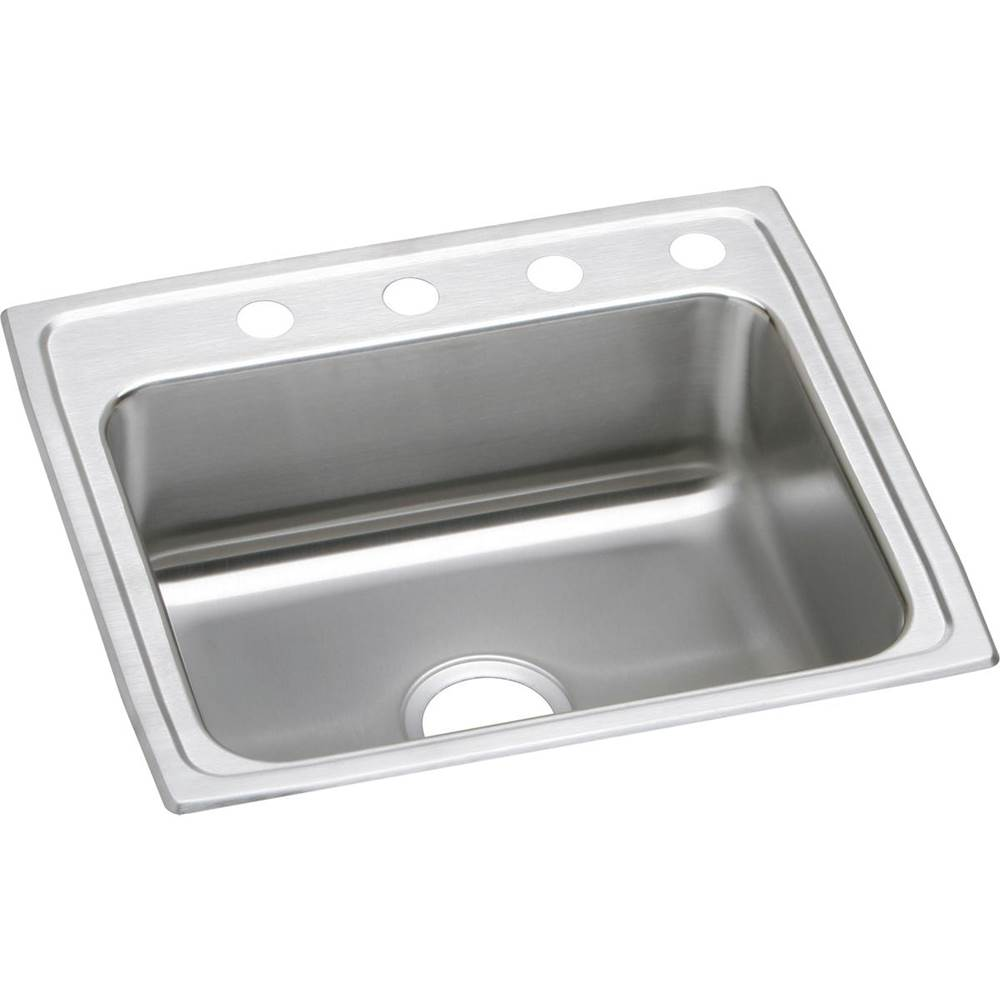 Elkay Elkay Lustertone Classic Stainless Steel 25'' x 21-1/4'' x 5-1/2'', Single Bowl Drop-in ADA Sink