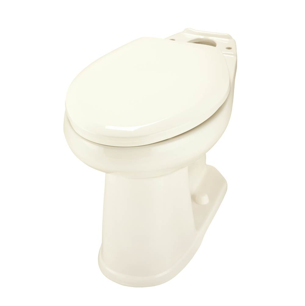 Gerber Plumbing Avalanche ADA Elongated Toilet Bowl Biscuit