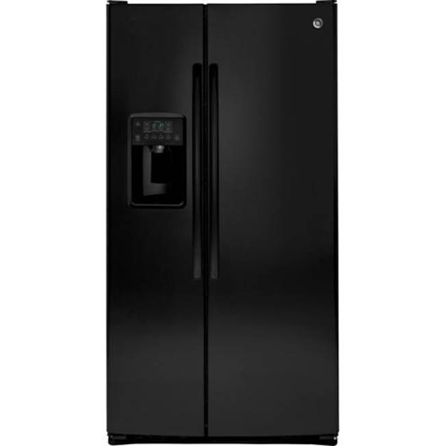 GE Appliances GE ENERGY STAR 25.3 Cu. Ft. Side-By-Side Refrigerator