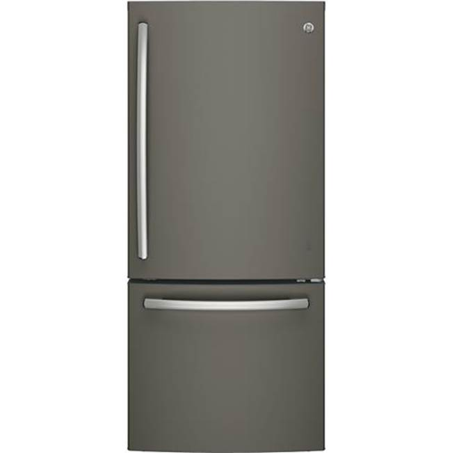 GE Appliances GE ENERGY STAR 21.0 Cu. Ft. Bottom-Freezer Refrigerator
