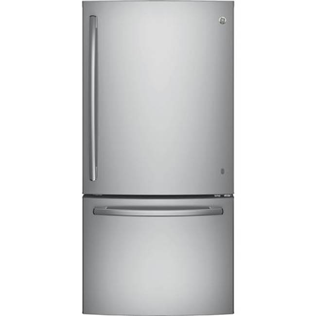 GE Appliances GE ENERGY STAR 24.8 Cu. Ft. Bottom-Freezer Drawer Refrigerator
