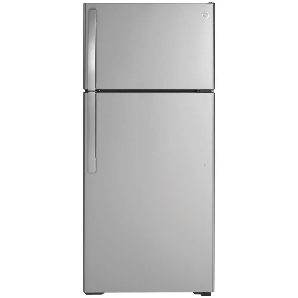 GE Appliances GE 16.6 Cu. Ft. Top-Freezer Refrigerator