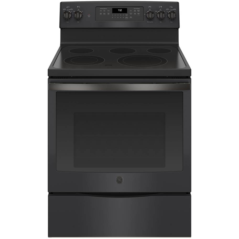 GE Appliances GE 30'' Free-Standing Electric Convection Range