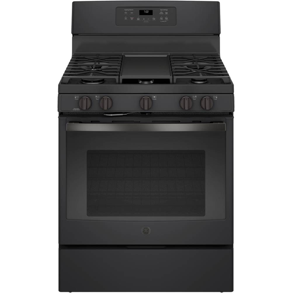 GE Appliances GE 30'' Free-Standing Gas Convection Range