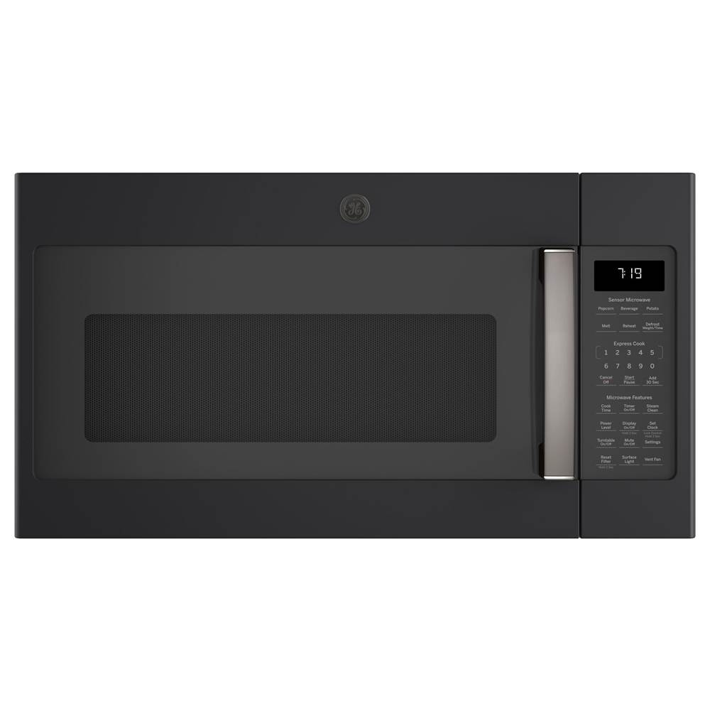 GE Appliances GE 1.9 Cu. Ft. Over-the-Range Sensor Microwave Oven with Recirculating Venting