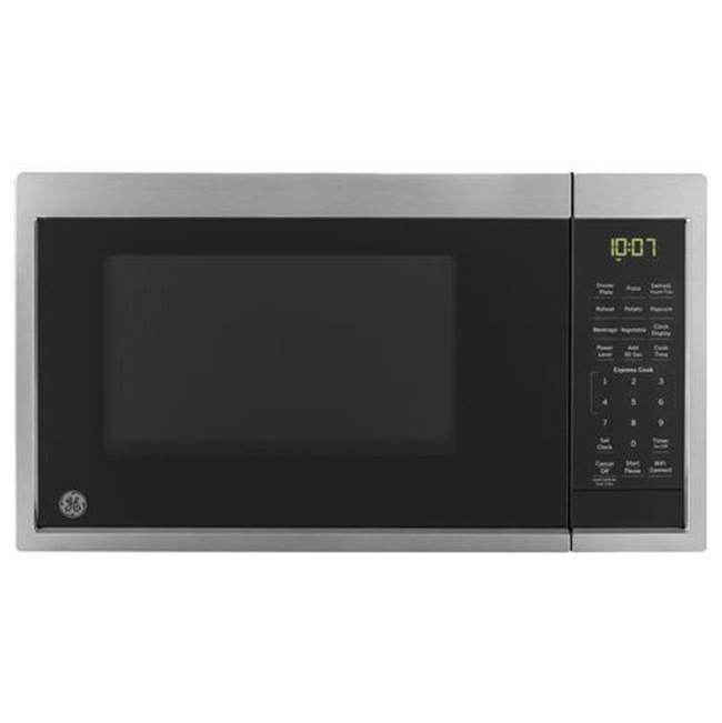 GE Appliances GE 0.9 Cu. Ft. Capacity Smart Countertop Microwave Oven with Scan-To-Cook Technology