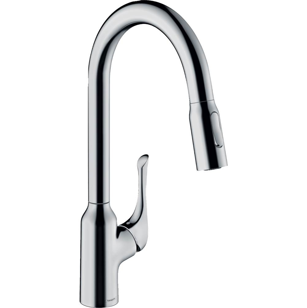Hansgrohe Allegro N Higharc Kitchen Faucet, 2-Spray Pull-Down, 1.75 Gpm In Chrome