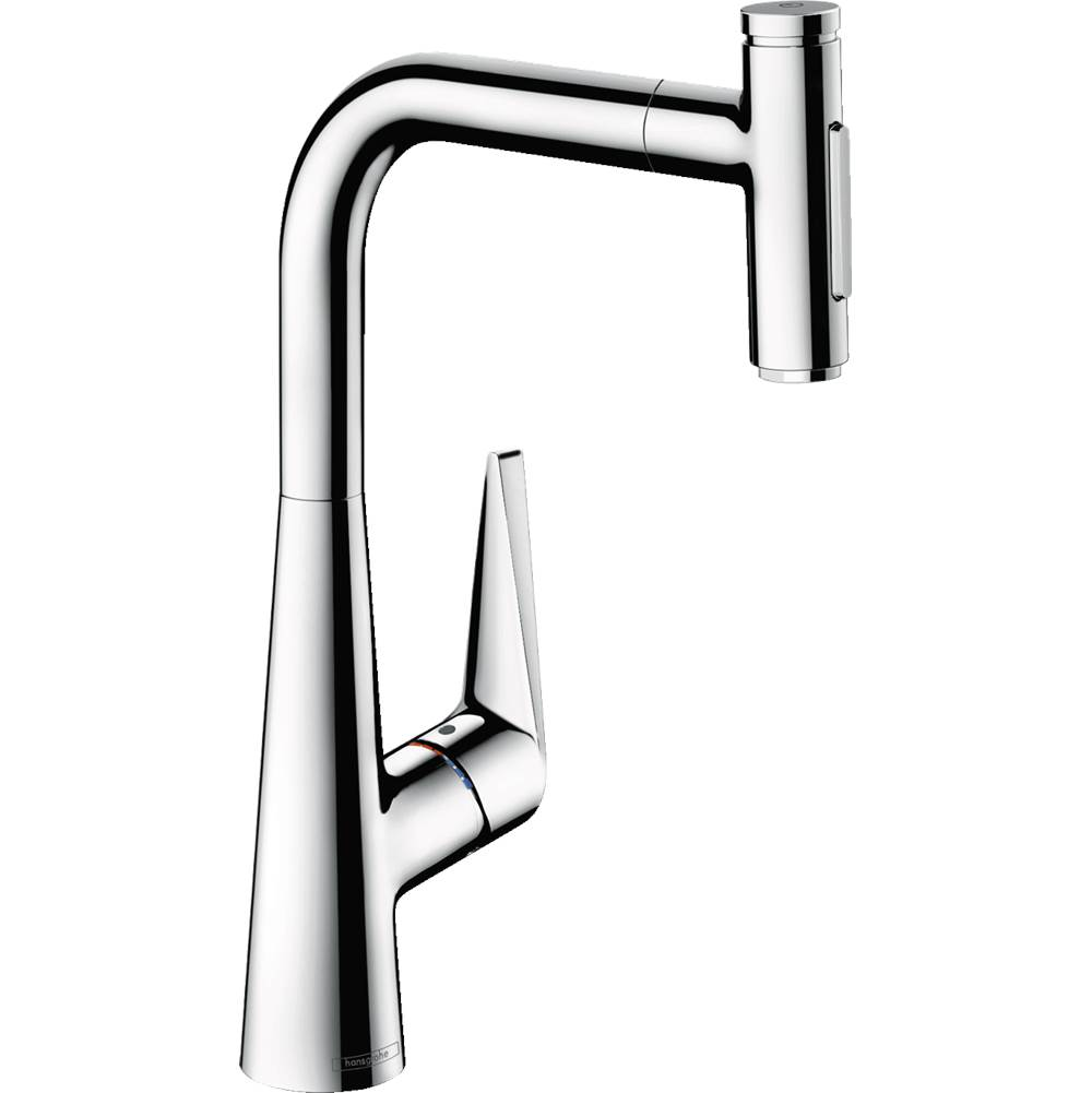 Hansgrohe Talis Select S Higharc Kitchen Faucet, 2-Spray Pull-Out With Sbox, 1.75 Gpm In Chrome