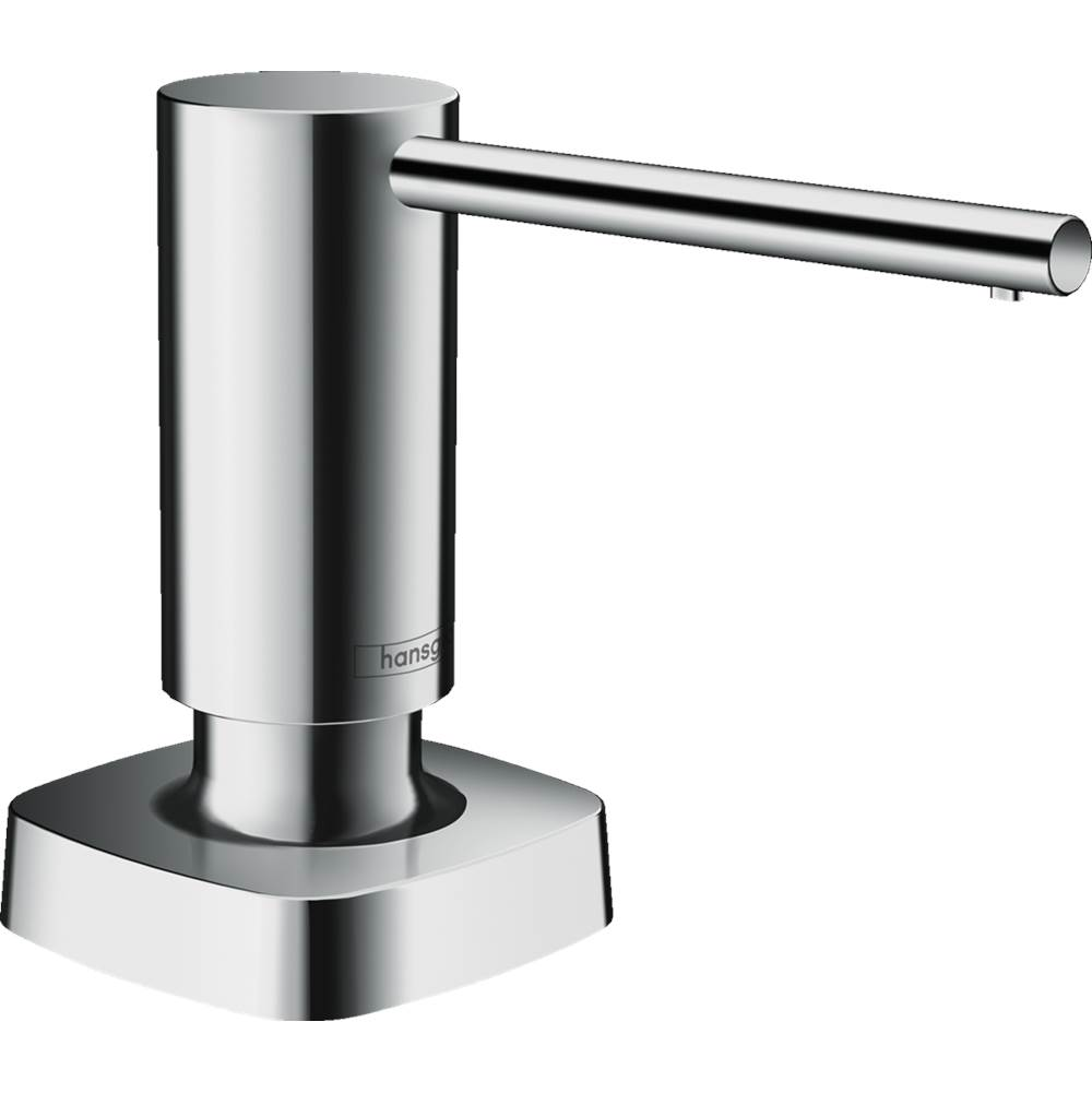 Hansgrohe Soap Dispenser, Metris In Chrome