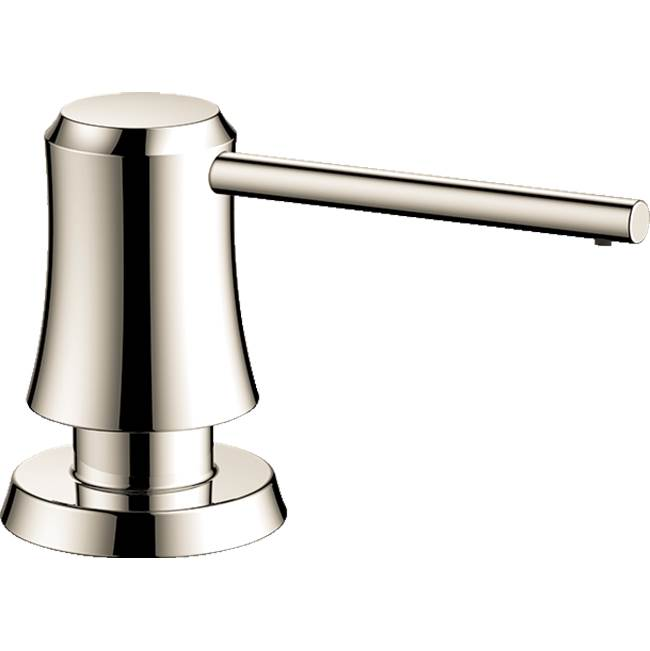 Hansgrohe Joleena Soap Dispenser In Polished Nickel