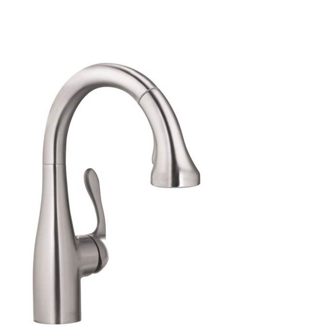 Hansgrohe Allegro E Gourmet Prep Kitchen Faucet, 2-Spray Pull-Down, 1.75 Gpm In Steel Optic