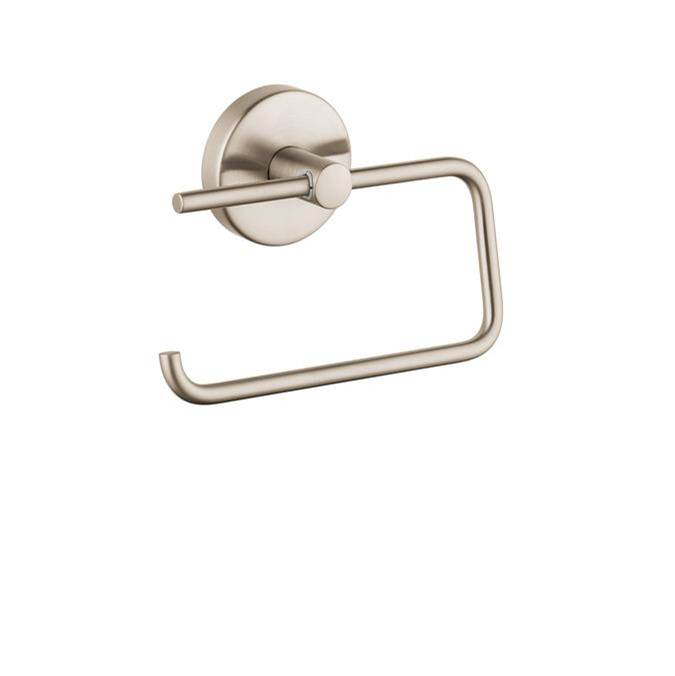 Hansgrohe Logis Toilet Paper Holder In Brushed Nickel