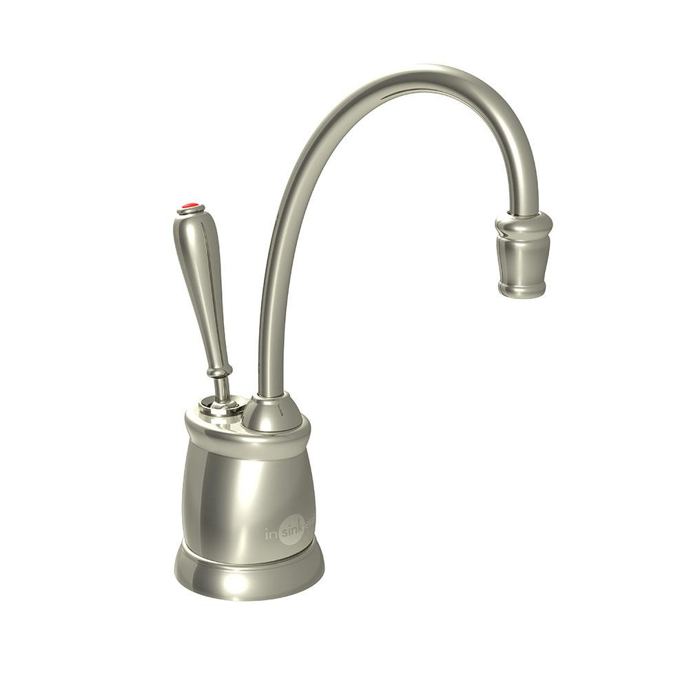 Insinkerator Indulge Tuscan F-GN2215 Instant Hot Water Dispenser Faucet in Polished Nickel