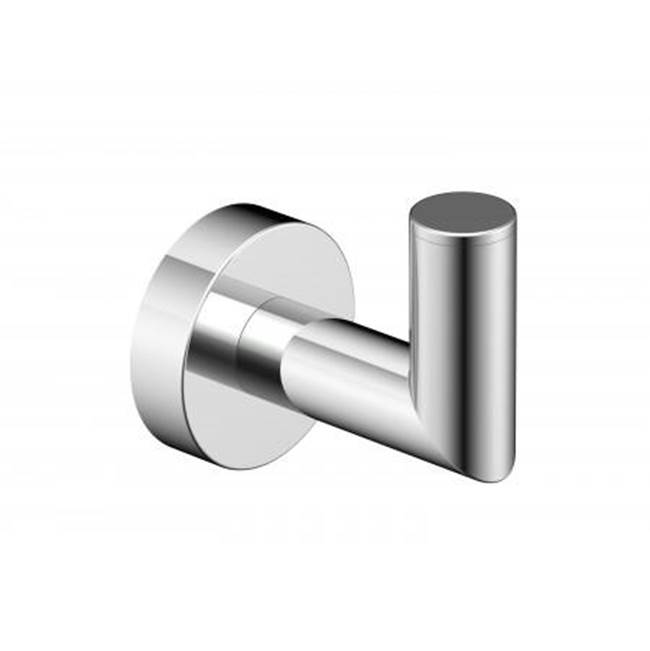 Kartners OSLO -  Robe Hook  - Polished Nickel