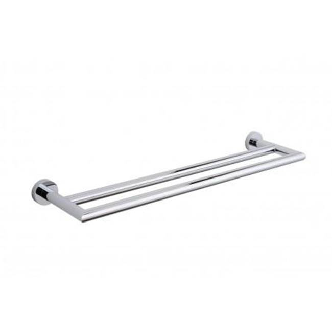 Kartners OSLO - Double Towel Bar 30  - Polished Nickel