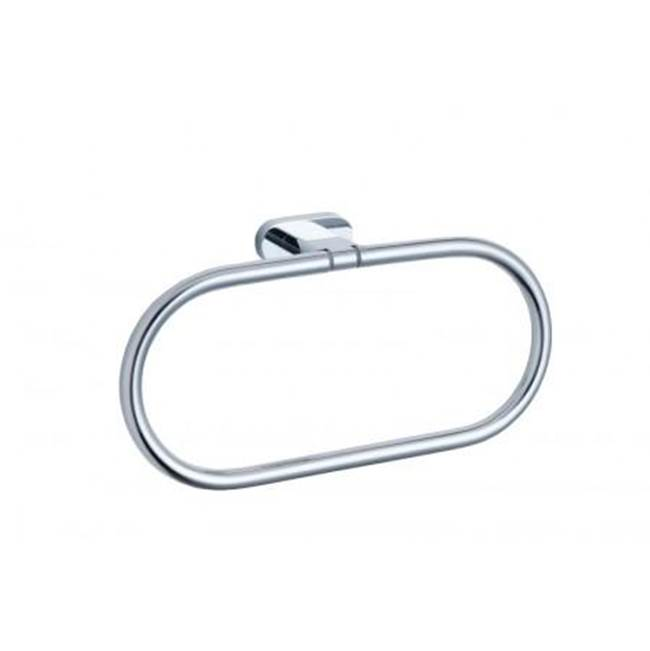 Kartners MONACO - Towel Ring  -  Brushed Copper
