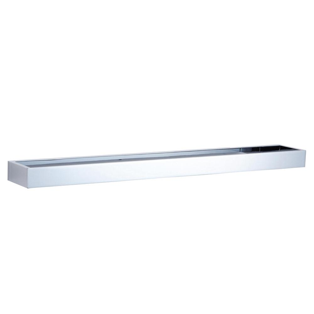 Kartners BERLIN - Towel Bar 24'' (solid back) - Matte White