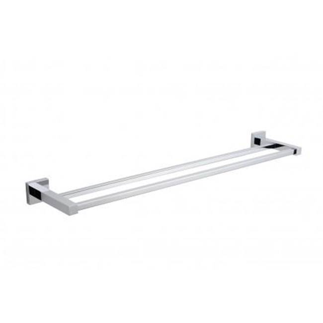 Kartners LONDON - Towel Bar Double 24  -  Flashed Black