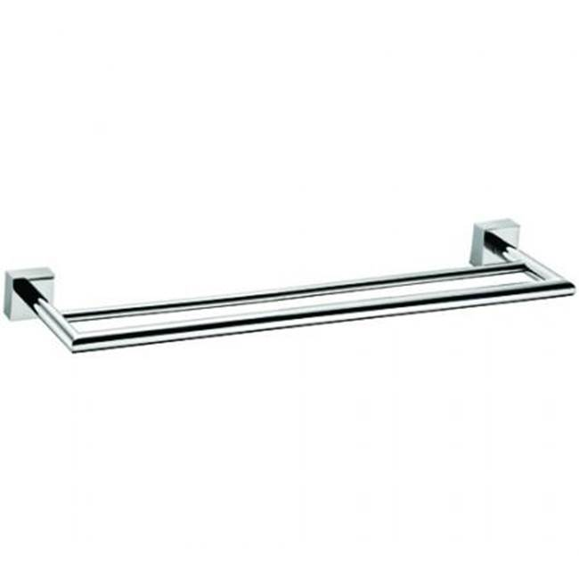 Kartners MADRID - Towel Bar Double 18''- Titanium