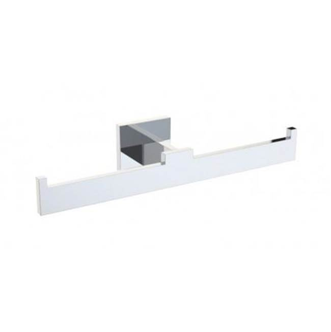 Kartners HAMBURG - Double Tissue Holder - Polished Chrome