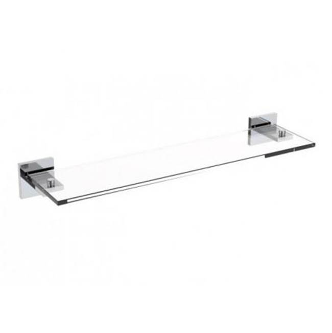 Kartners HAMBURG - Glass Shelf - Brushed Gold