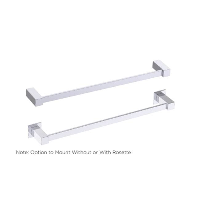 Kartners LISBON - Towel Bar 24'' - Titanium