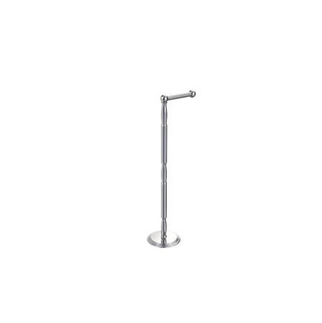 Kartners Free Standing Single Towel Rail - Unlacquered Brass