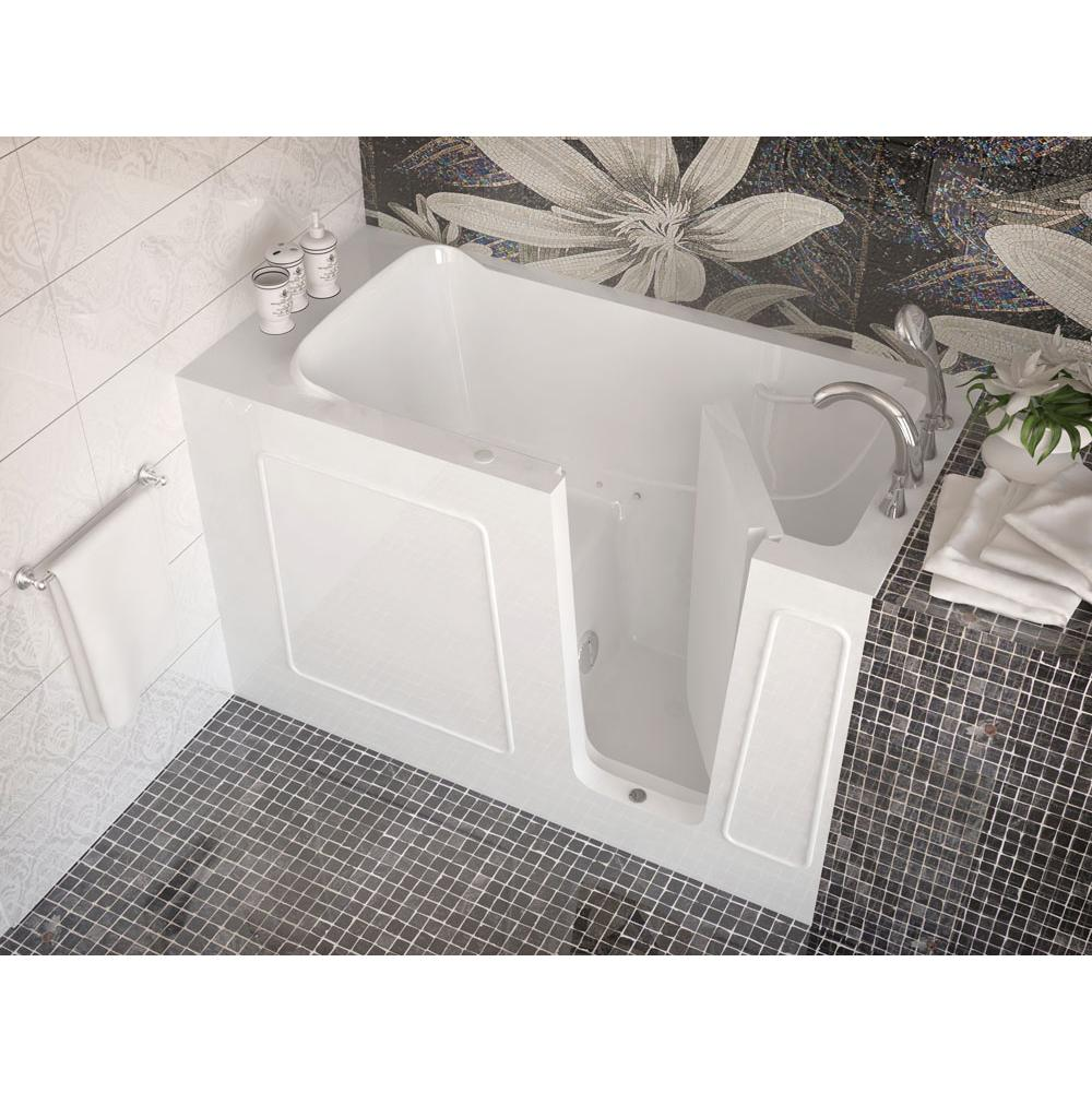 Meditub MediTub Walk-In 30 x 60 Right Drain White Air Jetted Walk-In Bathtub