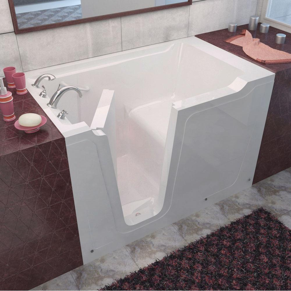 Meditub MediTub Walk-In 36 x 60 Left Drain White Soaking Walk-In